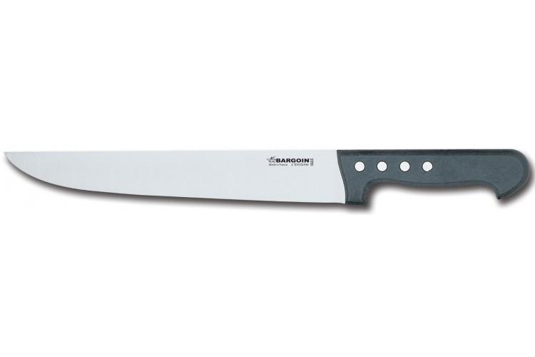 Couteau de boucher 30cm Classic 4 rivets Bargoin