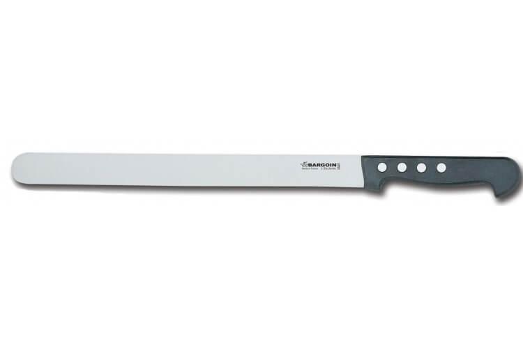 Couteau à jambon 33cm largeur 30mm Classic 4 rivets Bargoin