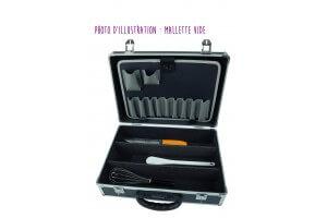 Mallette de cuisine Matfer vide jusqu'à 25 couteaux et ustensiles