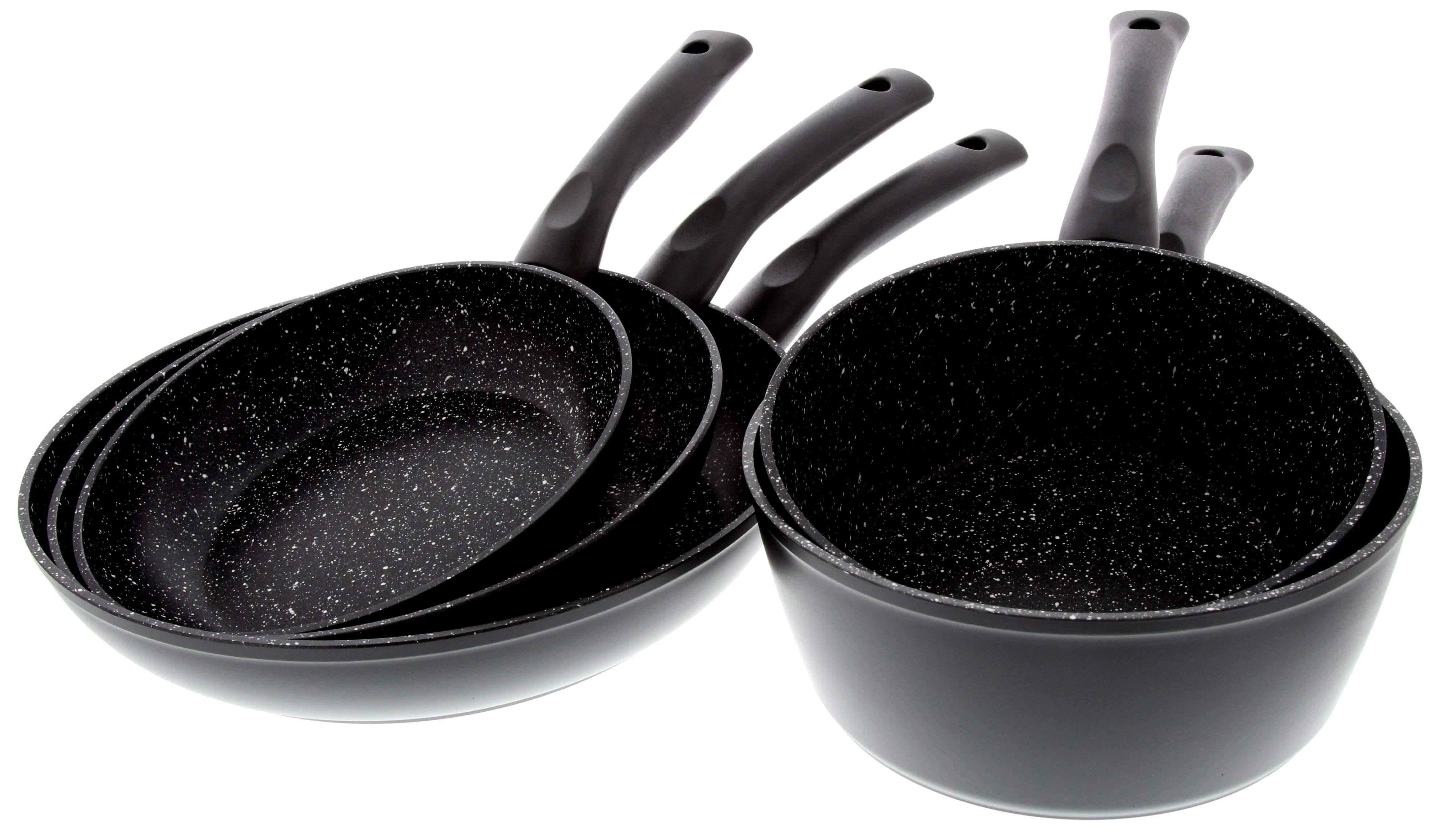 Batterie De Cuisine 5 Pieces Alu Forge Pradel Excellence