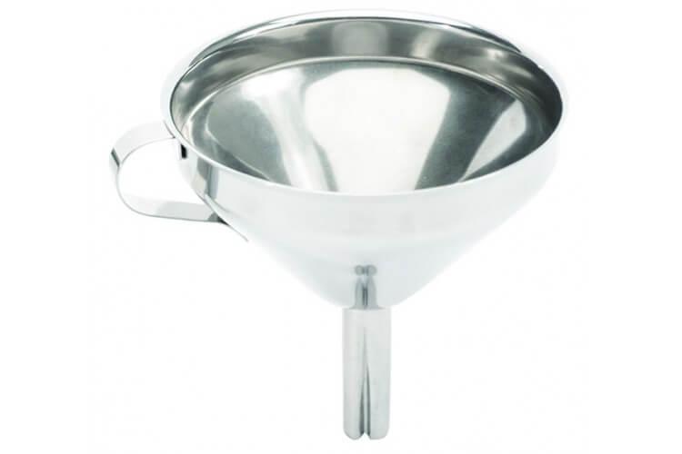 Entonnoir en acier inoxydable 18/10 diamètre 12cm