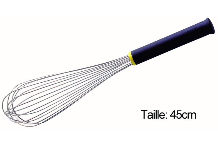 Fouet de cuisine FMC professionnel Matfer 45cm manche Exoglass®