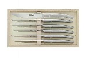 Coffret 6 couteaux de table forgés monobloc Le Thiers Goyon-Chazeau