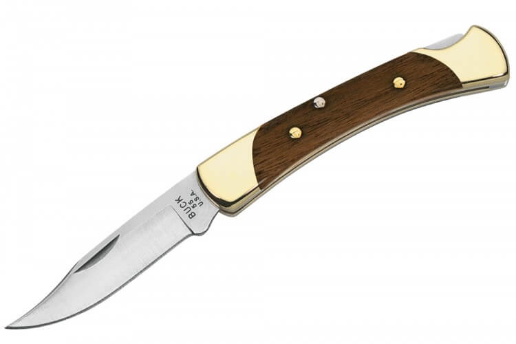 Couteau pliant BUCK 112 Ranger + étui en cuir
