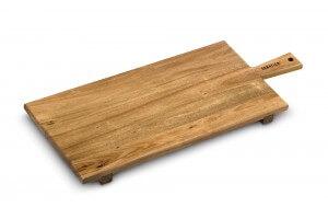 Planche à découper rustique Sabatier en acacia - 70x30x4.5cm