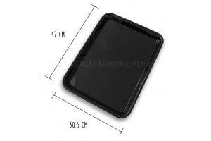 Plateau de présentation professionnel en Altuglas® noir - 42x30.5cm