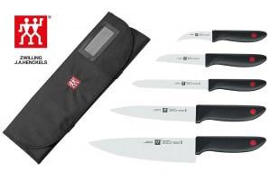 Mallette professionnelle Zwilling Twin Point 5 couteaux de cuisine