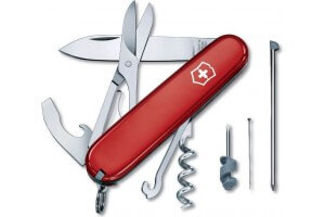 Couteau suisse Victorinox Compact rouge 91mm 15 fonctions