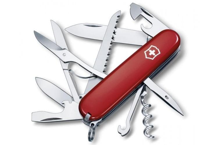 Couteau suisse Victorinox 11 pieces HUNTSMAN rouge