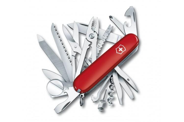 Couteau suisse Victorinox 21 pièces SWISSCHAMP rouge