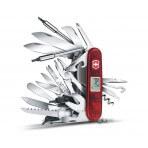 Couteau suisse Victorinox 80 fonctions SWISSCHAMP XAVT rouge translucide