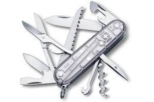 Couteau suisse Victorinox Huntsman Silvertech 91mm 15 fonctions