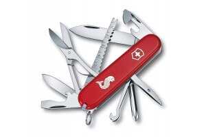 Couteau suisse Victorinox Fisherman rouge 91mm 18 fonctions