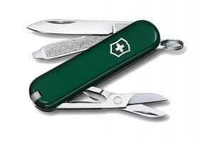 Couteau suisse Victorinox 5 pièces Classic vert