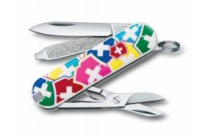 Couteau suisse Victorinox 5 pièces Classic Semis de croix