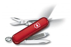Couteau suisse Victorinox 5 pièces Signature lite Rouge