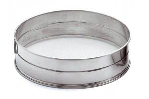 Tamis professionnel Matfer acier inox 25cm - maille inox 1.28mm