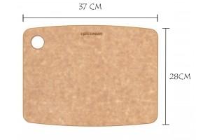 Planche à découper Epicurean naturelle en fibre de bois 37x28cm