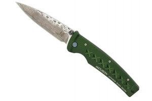 Couteau pliant MCUSTA Tsuchi Fusion MC-163D Damas martelé 11cm
