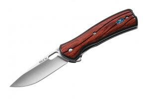Couteau pliant BUCK VANTAGE AVID 0346RWS manche palissandre 11cm