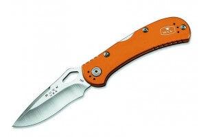 Couteau pliant BUCK SPITFIRE n°722ORS1 manche orange 11cm