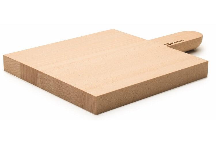 Planche à découper Wusthof en hêtre clair - 21 x 21 x 2.5cm