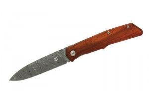 Couteau pliant FOX Terzuola FX-525DC Damas manche cocobolo 11cm + étui