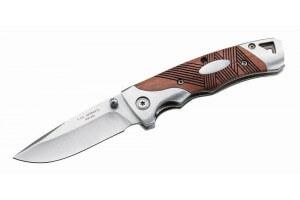 Couteau pliant Herbertz 213309 Manche palissandre strié 9cm