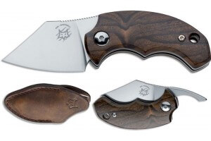 Couteau pliant FOX Bastinelli FX-519ZW BB Drago ziricote 6,5cm + étui