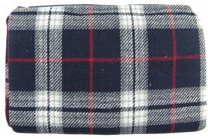 Couverture de pique-nique Keen Sport coloris Noir écossais 175 X 135 CM