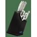 Bloc design 4 couteaux + ciseaux Arcos Riviera White acier inox NITRUM