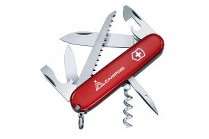 Couteau suisse Victorinox Camper Logo rouge 91mm 13 fonctions