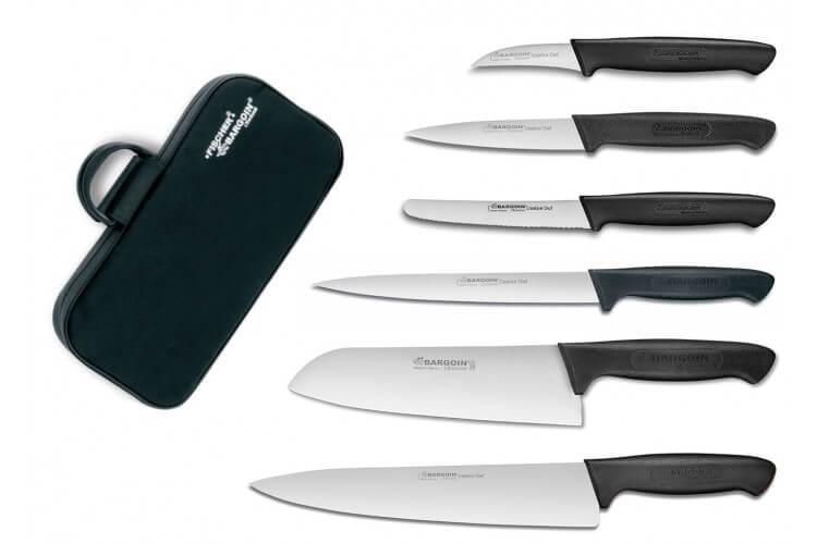 Mallette professionnelle Fischer Creative Chef 6 couteaux de cuisine