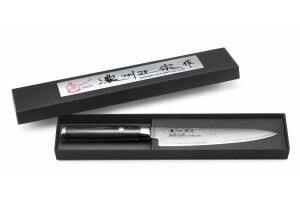 Couteau universel japonais Satake Helios 15cm damas 69 couches