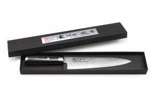 Couteau de chef japonais Satake Helios 20cm damas 69 couches