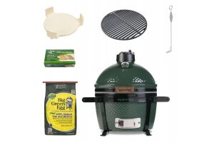 Pack Barbecue Big Green Egg MiniMax multifonctions + 5 accessoires de cuisson