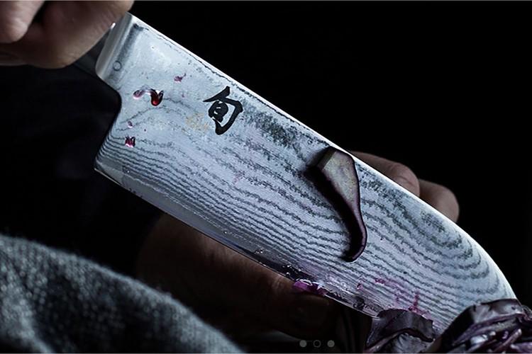 Coffret 3 couteaux japonais Kai Shun Classic Damas + bloc en hêtre offert