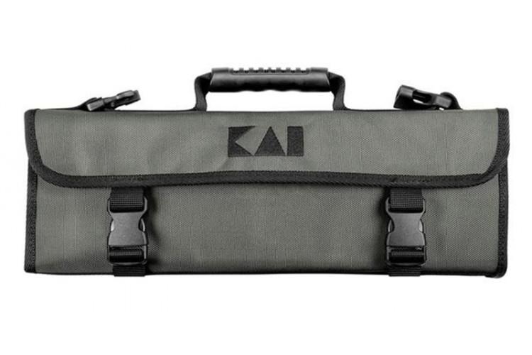 Malette à couteaux KAÏ vide pour 7 couteaux et accessoires