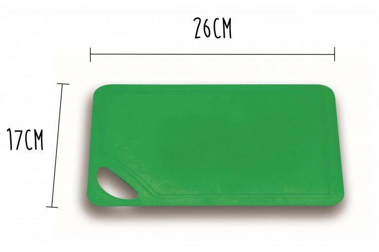 Planche à découper souple Wusthof verte 26x17cm