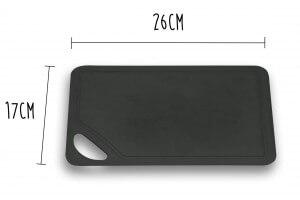 Planche à découper souple Wusthof noire 26x17cm