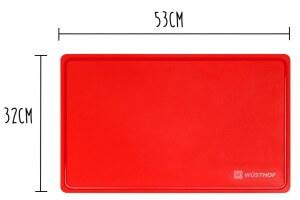 Planche à découper souple Wusthof rouge 53x32cm