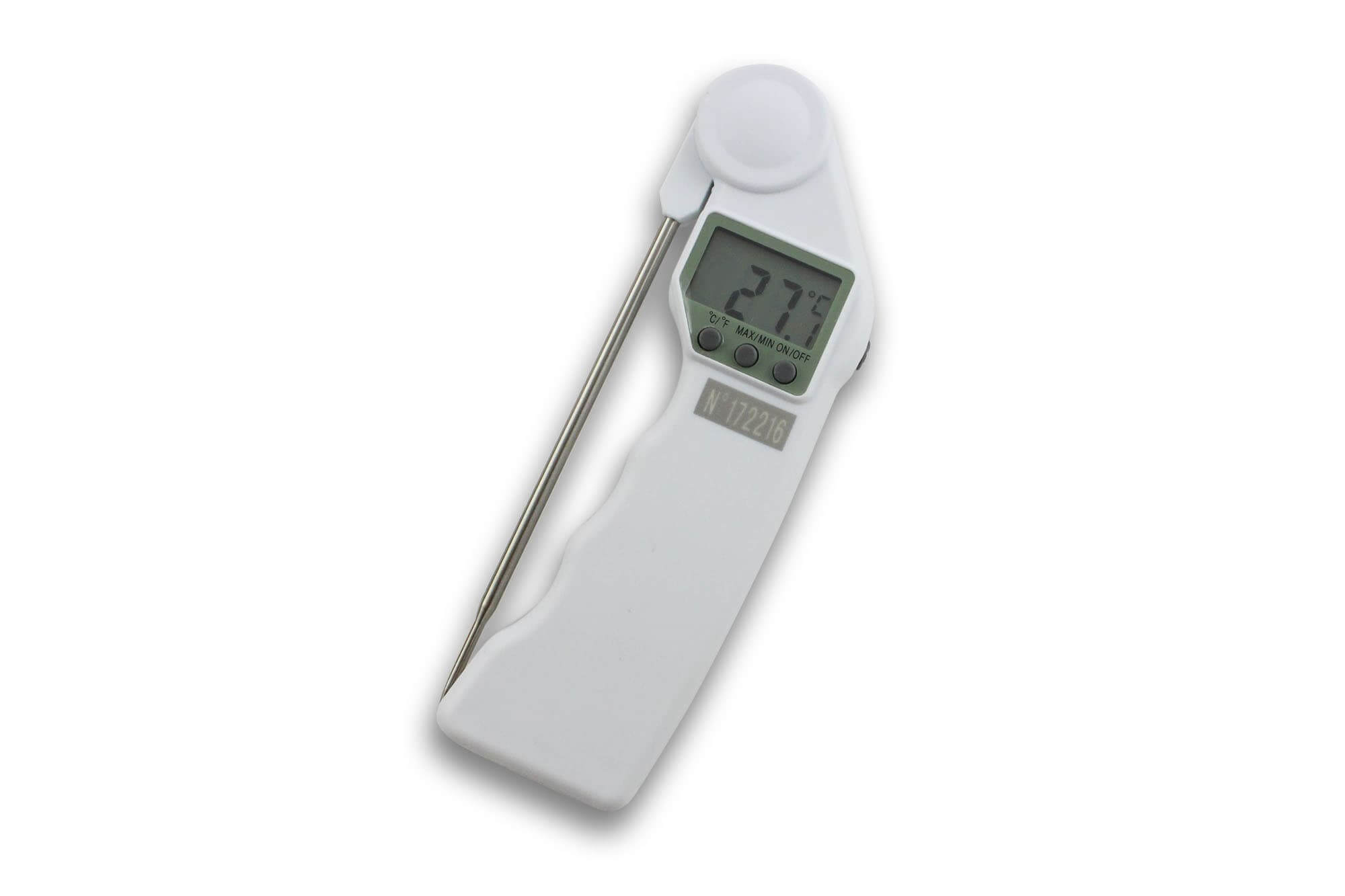 Thermomètre digital 50+300°C HACCP Alla France avec sonde rotative
