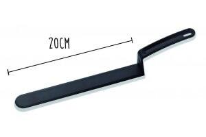Spatule coudée professionnelle à angle droit MATFER Exoglass® 20cm