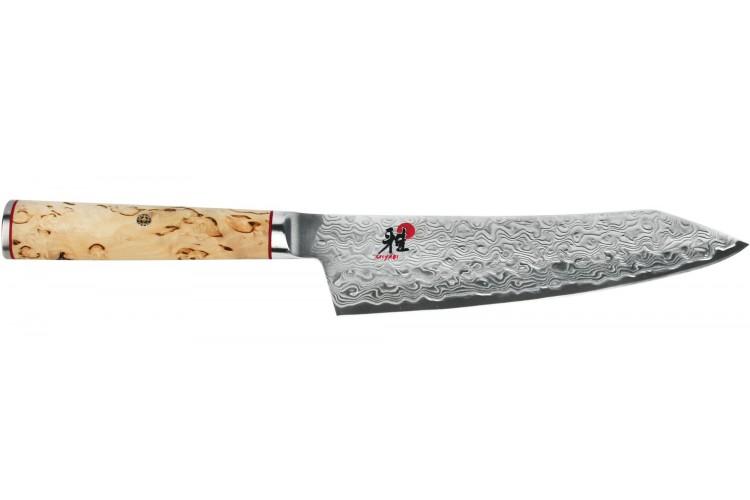 Couteau rocking santoku japonais Miyabi 5000MCD lame CRYODUR 18cm