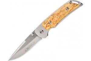 Couteau pliant MARTTIINI MFK 2 915111 manche bouleau 11cm
