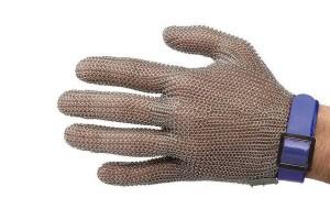 Gant de protection Niroflex en cotte de maille inox - Taille L