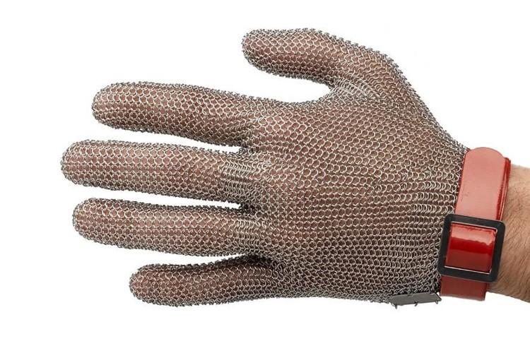 Gant de protection Niroflex en cotte de maille inox - Taille M