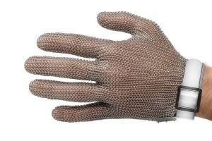 Gant de protection Niroflex en cotte de maille inox - Taille S