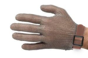 Gant de protection Niroflex en cotte de maille inox - Taille XXS