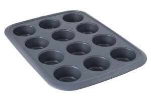 Moule pour 12 muffins Berghoff Gem Ø8cm acier carbone
